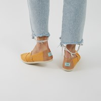 Women's Alpargata EVA Slip on Sneakers in Yellow