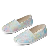 Women's Alpargata EVA Slip on Sneakers in Tie Dye