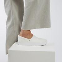 Women's Alpargata Indio Slip on Sneakers in White