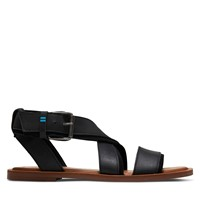 Women's Sydney Strap Sandals in Black