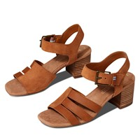 Women's Estella Heeled Sandals in Brown