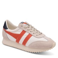 Women's Boston '78 Sneakers in White/Orange/Navy