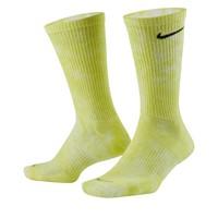 Paquet de deux paires de chaussettes Crew Everyday Plus jaunes et roses
