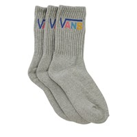 Women's 3 Pair Classic Crew Socks in Grey