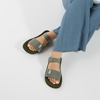 Women's Skeena Sandals in Green