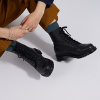 Women's 1460 Pascal Mono Boots in Black