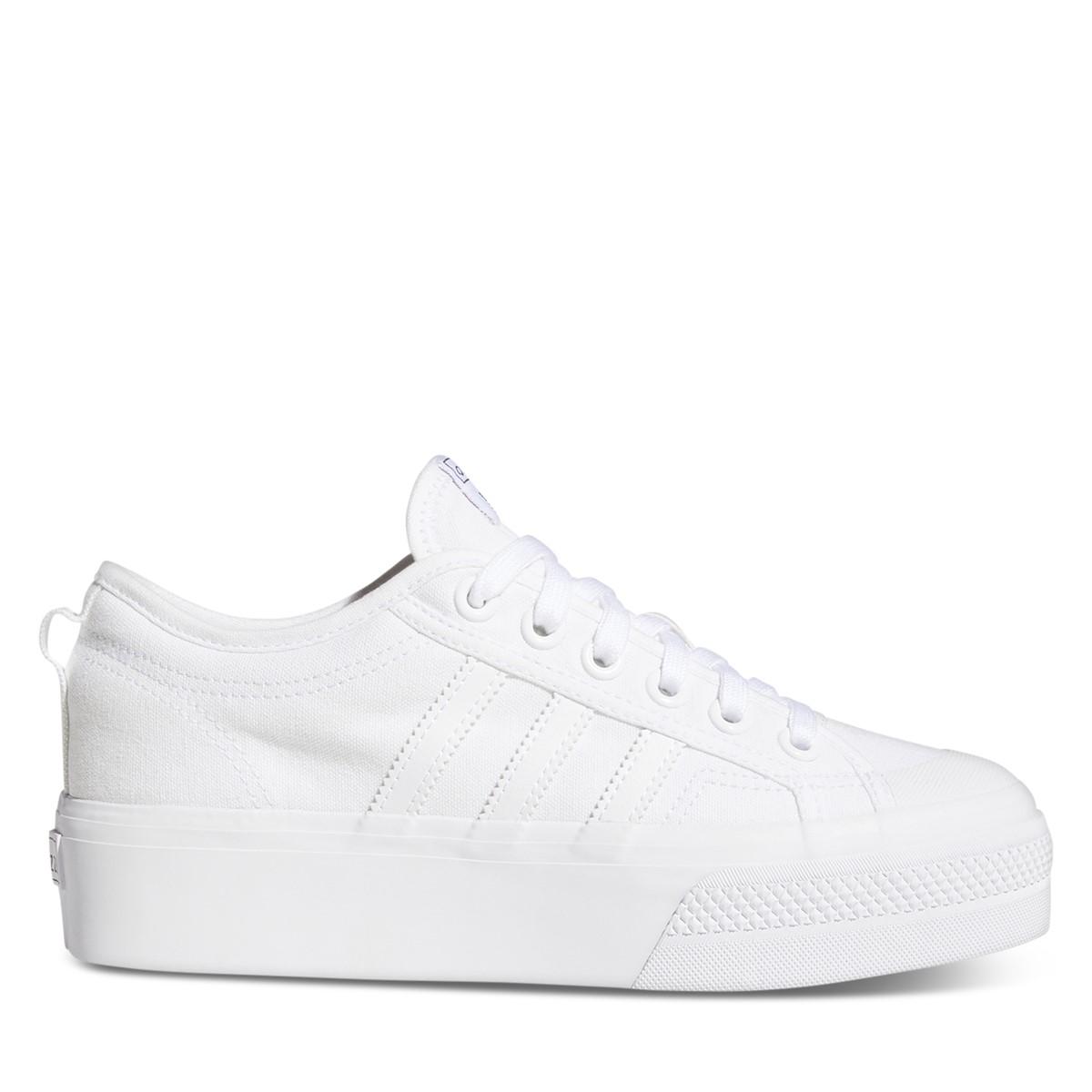 Women's Nizza Platform Sneakers in White