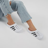 Women's Adilette Clogs in White/Black