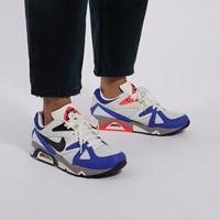 Men's Air Structube Sneakers in White/Blue