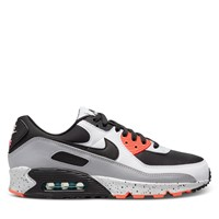 Men's Air Max Sneakers in Grey/Black/Orange