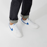 Men's Court Royale 2 Low Sneakers in White/Blue