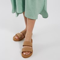 Women's Cayucas Slides in Beige