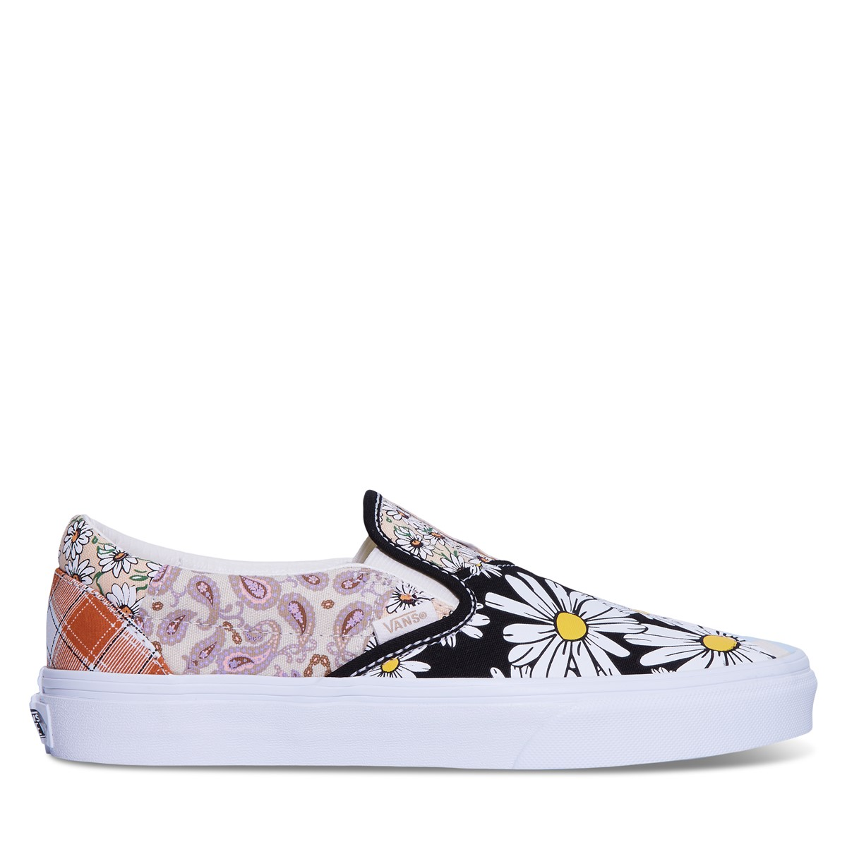 Meadow Patchwork Classic Slip-On Sneakers