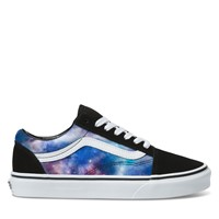 Women's Galaxy Old Skool Sneakers in Black