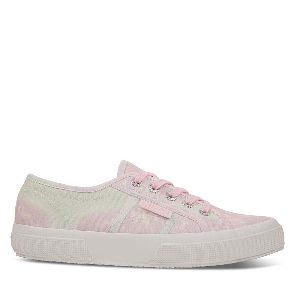 Women's 2750 Cotu Tie-Dye Sneakers in Pink