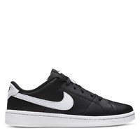 Women's Court Royale 2 Low Sneakers in White/Black