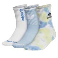 Trois paires de chaussettes Crew à la cheville Originals bleues pour femmes
