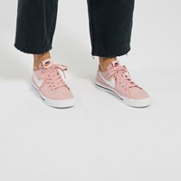 Women's Court Legacy Sneakers in Pink/White