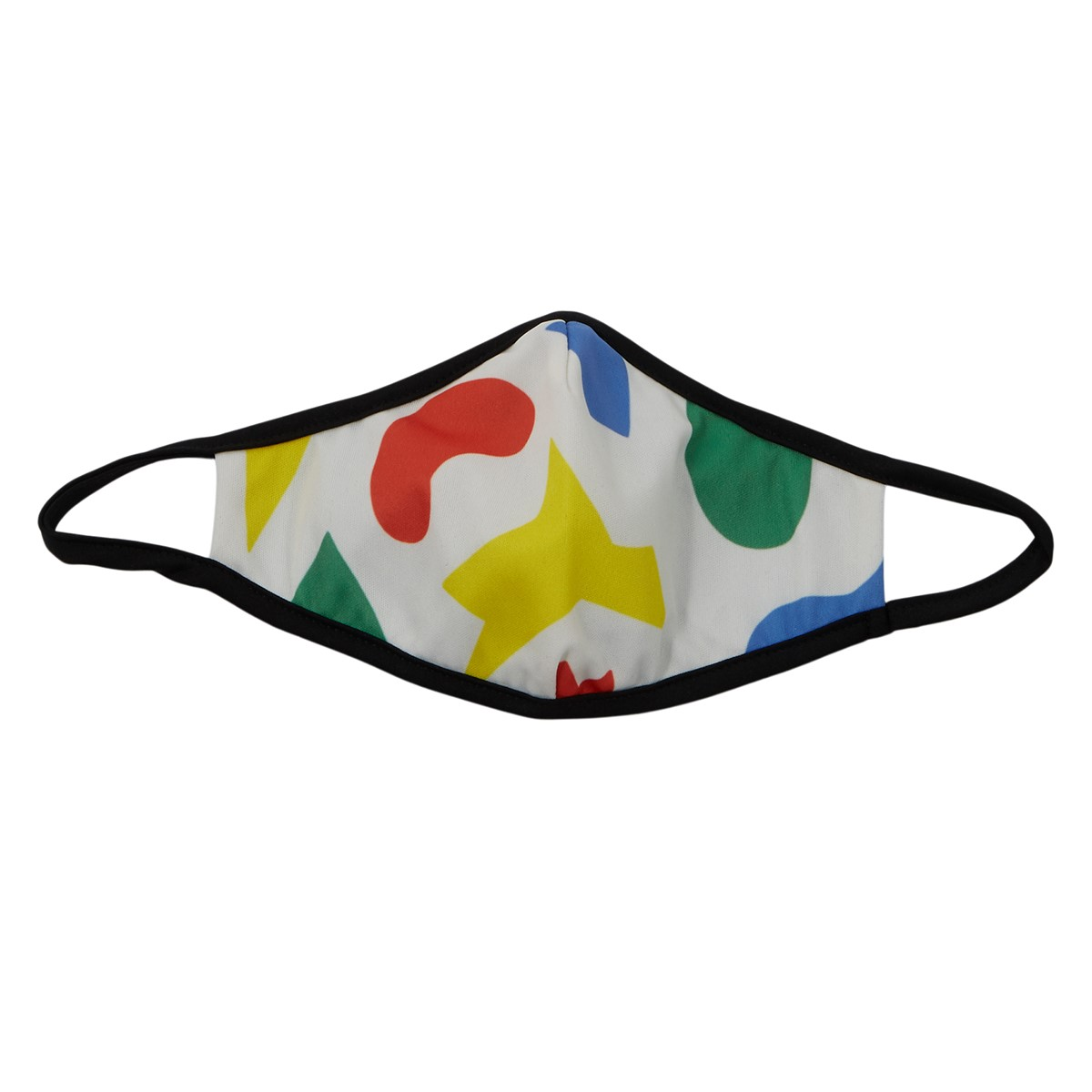 Color Block Mask in White