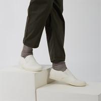 Men's Sam Organic Cotton Slip-On Shoes in White