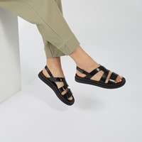 Women's 18046 Magic Sandals in Black