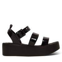 Women's 18059 Future Platform Sandals in Black