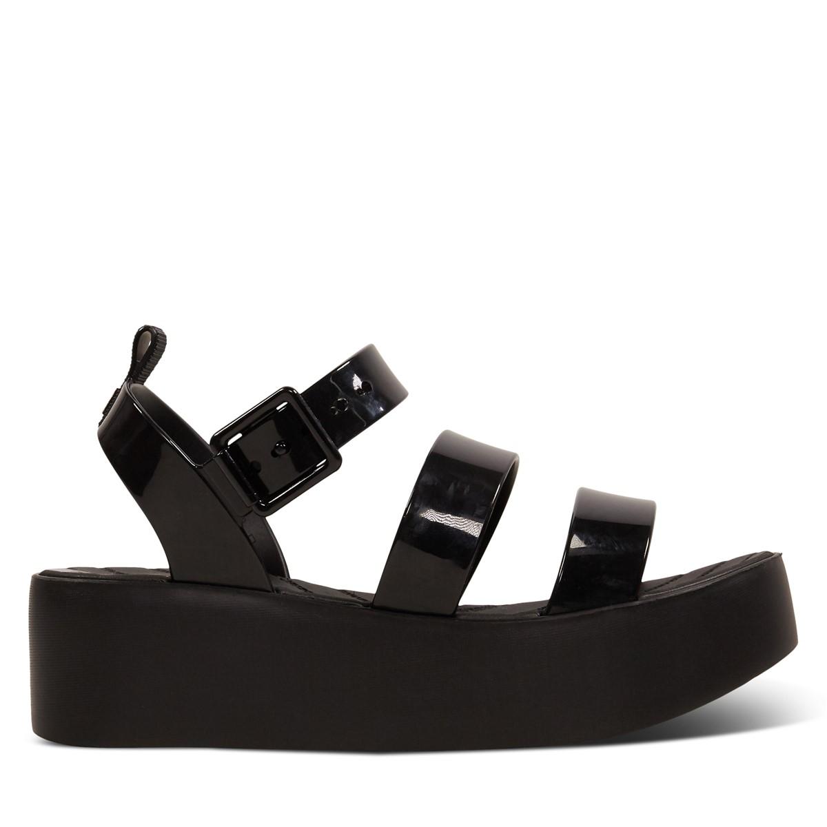 Women's 18059 Future Platform Sandals in Black