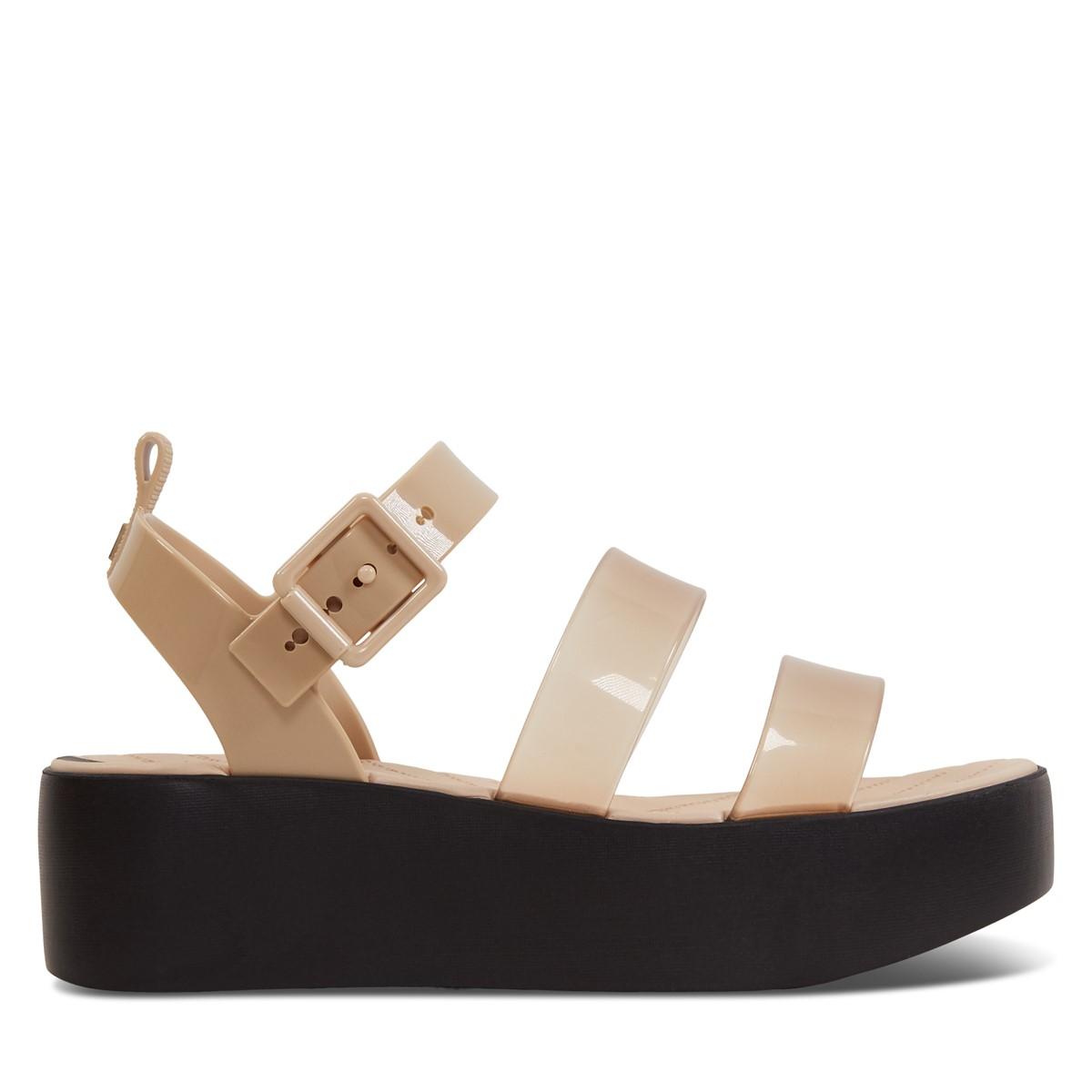 Women's 18059 Future Platform Sandals in Beige
