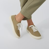 Women's Lennox Lace-Up Shoes in Taupe