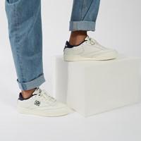 Men's Club C 85 Crest Sneakers in Chalk/Navy