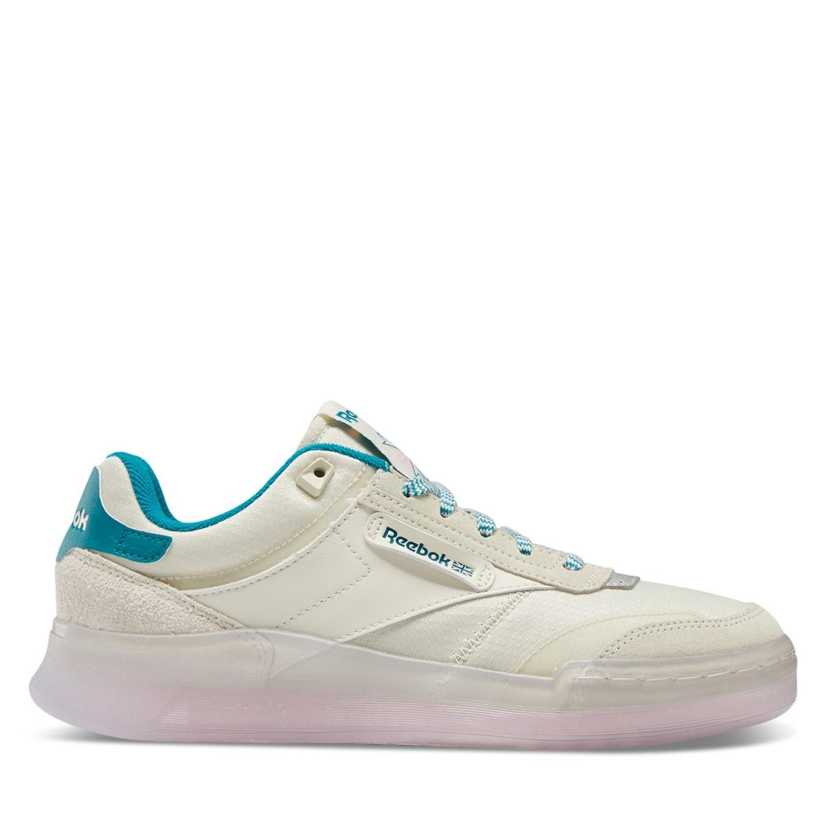 Women's Club C Legacy Sneakers in Chalk/Blue