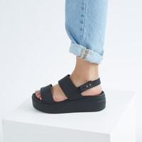 Sandales Brooklyn noires pour femmes