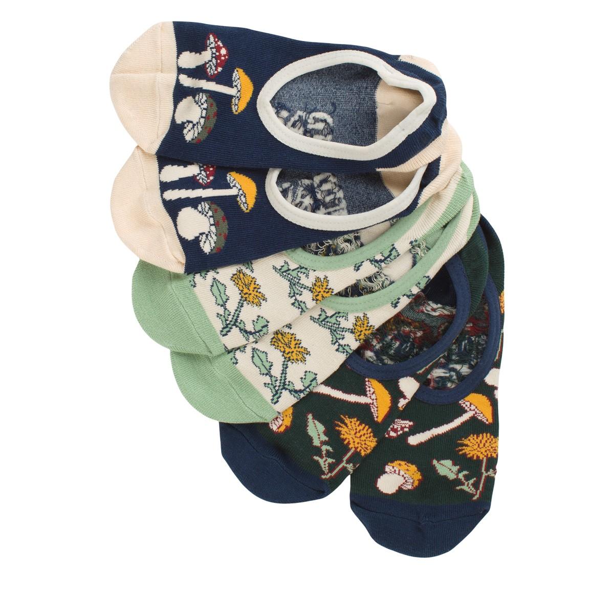 Women's Three pack Mushroom Bloom Canoodle Socks