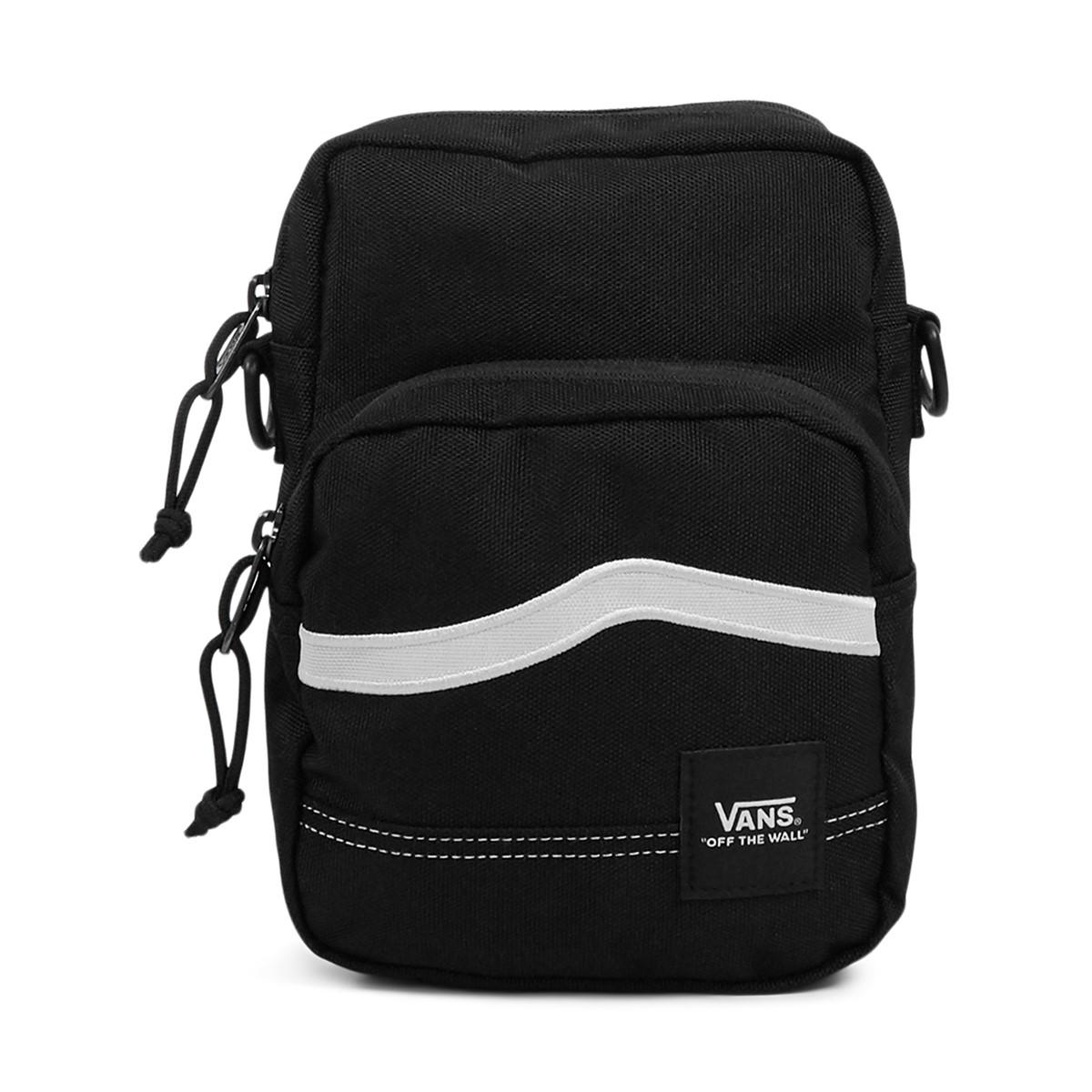 Construct Shoulder Bag in Black/White