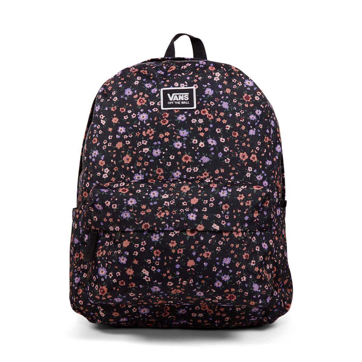 Old Skool H2O Floral Backpack in Black