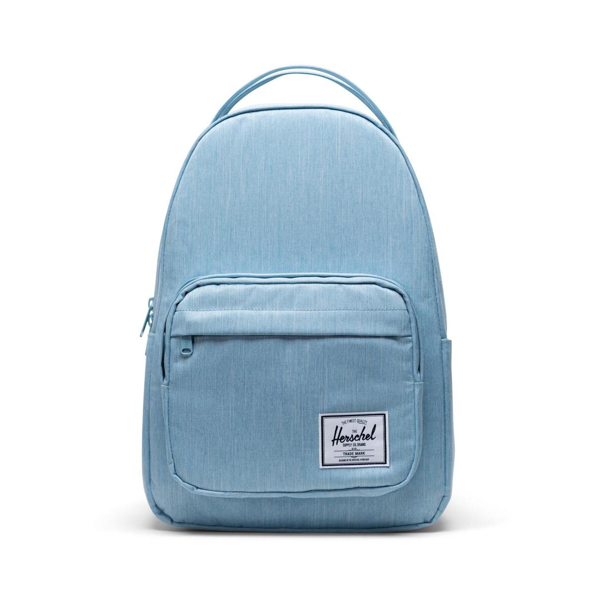 Miller Backpack in Light Blue Denim