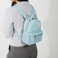 Nova Mini Backpack in Light Blue Denim