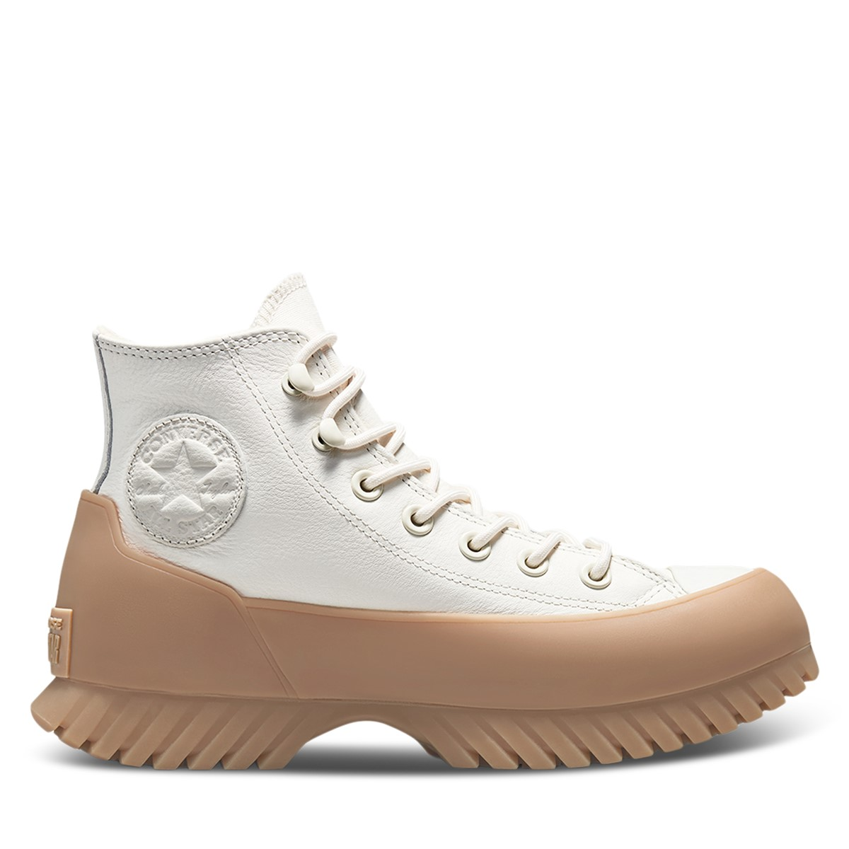 Women's Chuck Taylor All Star Lugged Winter Boots in White/Gum
