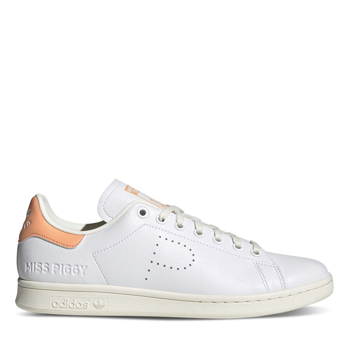 Kermit the Frog and Miss Piggy Stan Smith Sneakers in White/Green