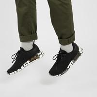 Men's NMD R1 Sneakers in Black/ White