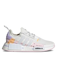 Women's NMD_R1 Sneakers in White/Grey/Pink
