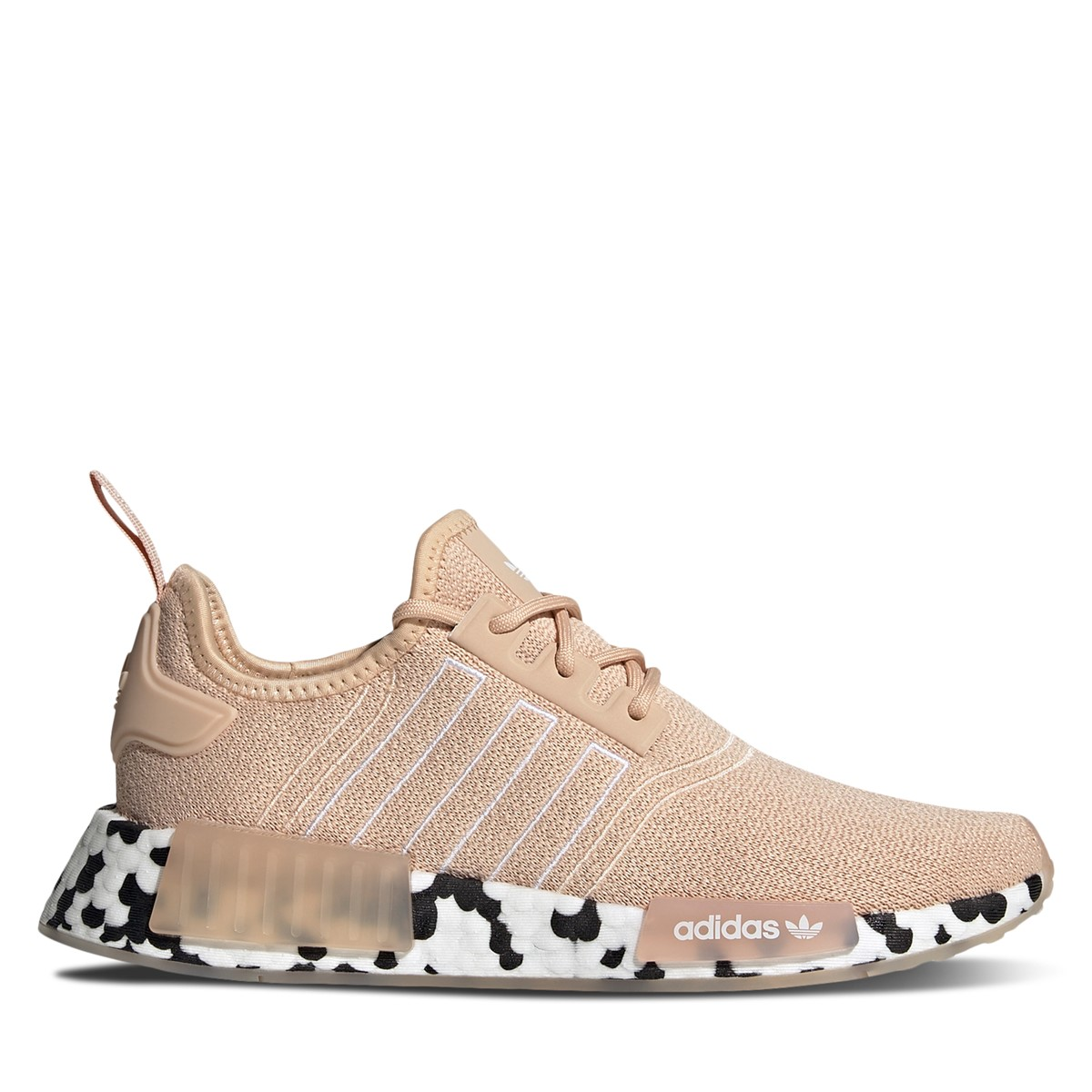 Women's NMD Sneakers in Light Pink/ White/ Black