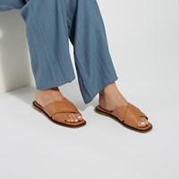 Women's Mia Slip-On Sandals in Tan