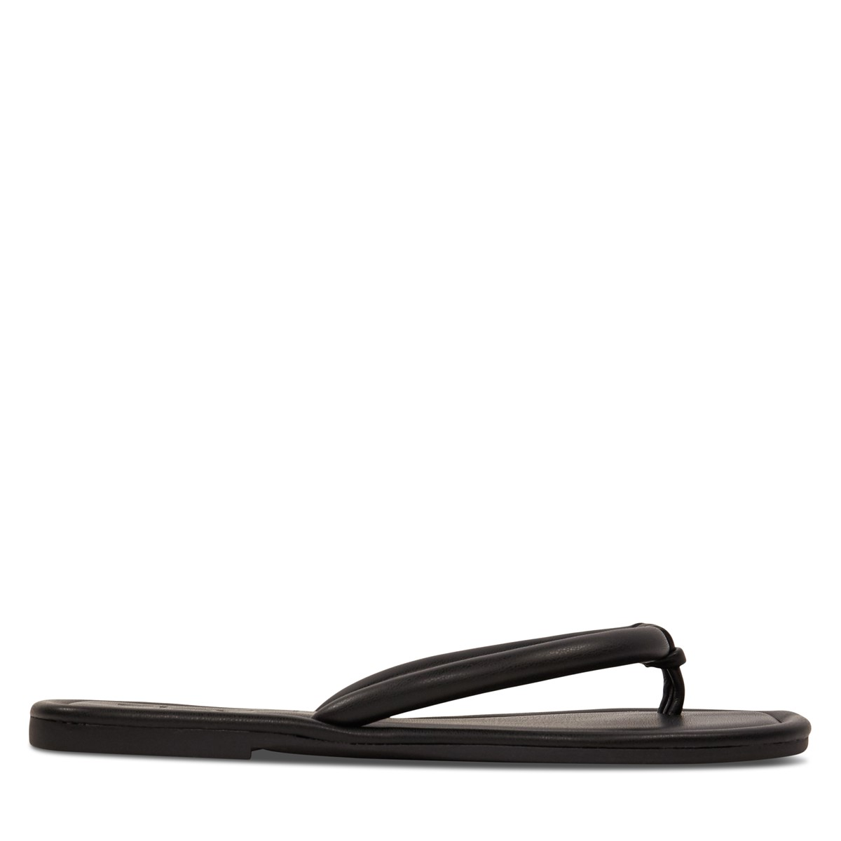 Women's Claire Thong Sandals in Black
