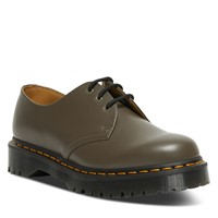Men's 1461 Bex Smooth Oxford Shoes in Khaki