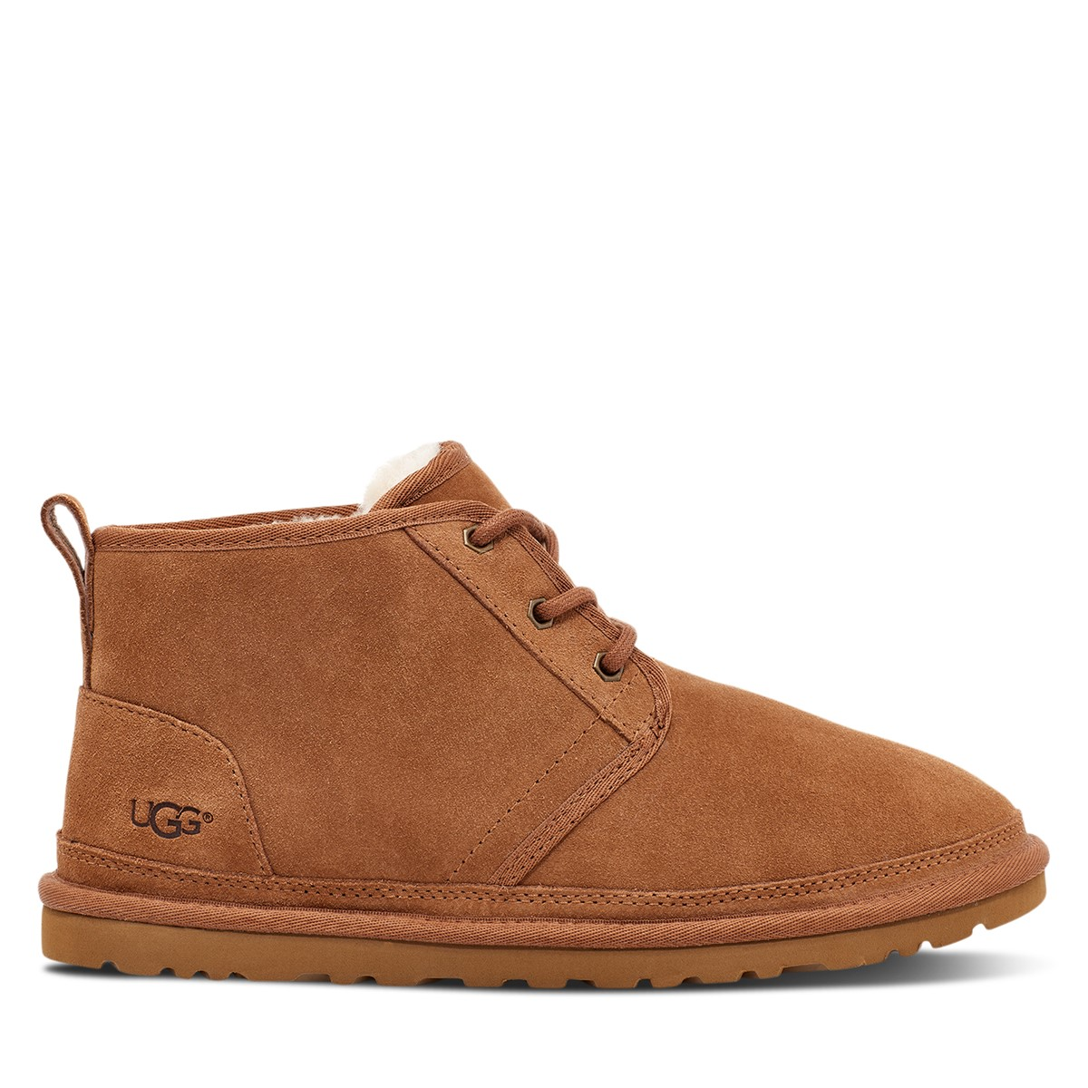Men's Neumel Lace-Up Boots in Chesnut