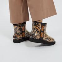 Mini bottes Classic Clear léopard pour femmes