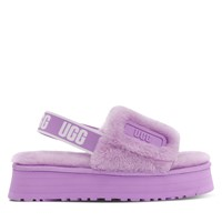 Women's Disco Platform Slippers in Lilac