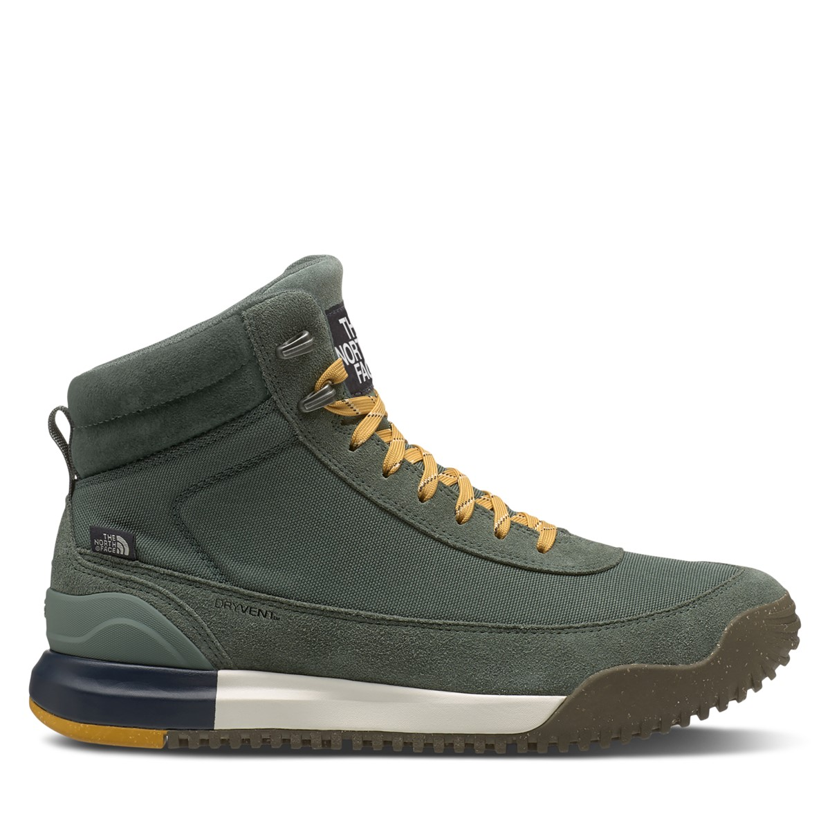 Men's Back to Berkeley III Textile WP Boots in Green