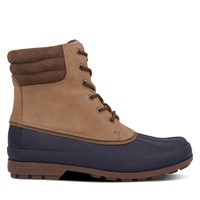 Men's Cold Bay Duck Boots in Taupe/Navy